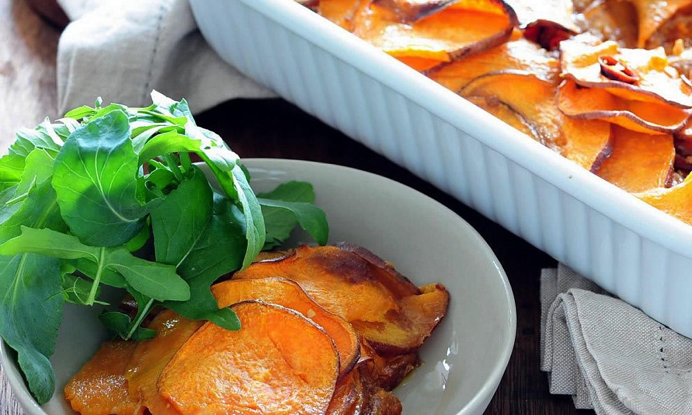 Hughes Sweet Potato Gratin