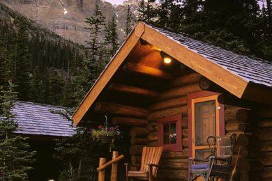 Cabin in Yoho National Park Lake OHaraBritish Columbia