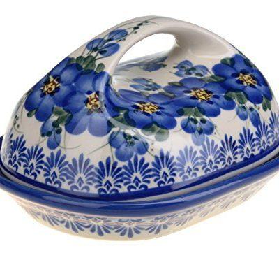 Boleslawiec Pottery Ceramic Butter Dish