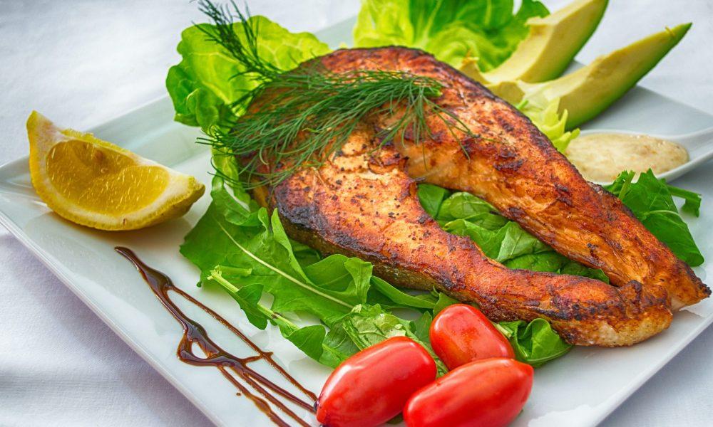 Swedish Style Baked Salmon