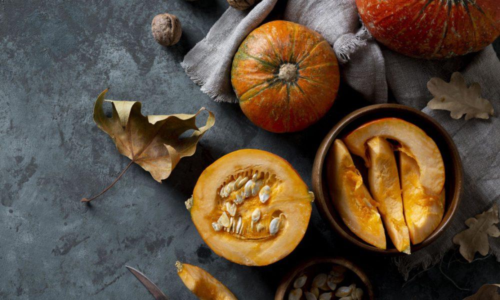Pumpkin and Coffee Cream Swiss Roll