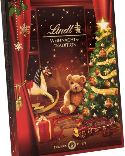 Lindt Chocolate Advent Calendar Christmas Tree and Toy Train