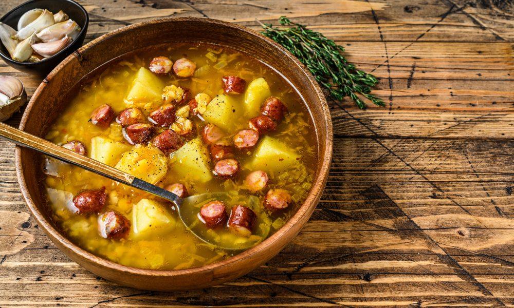 Viennese soup 'Ritscher'