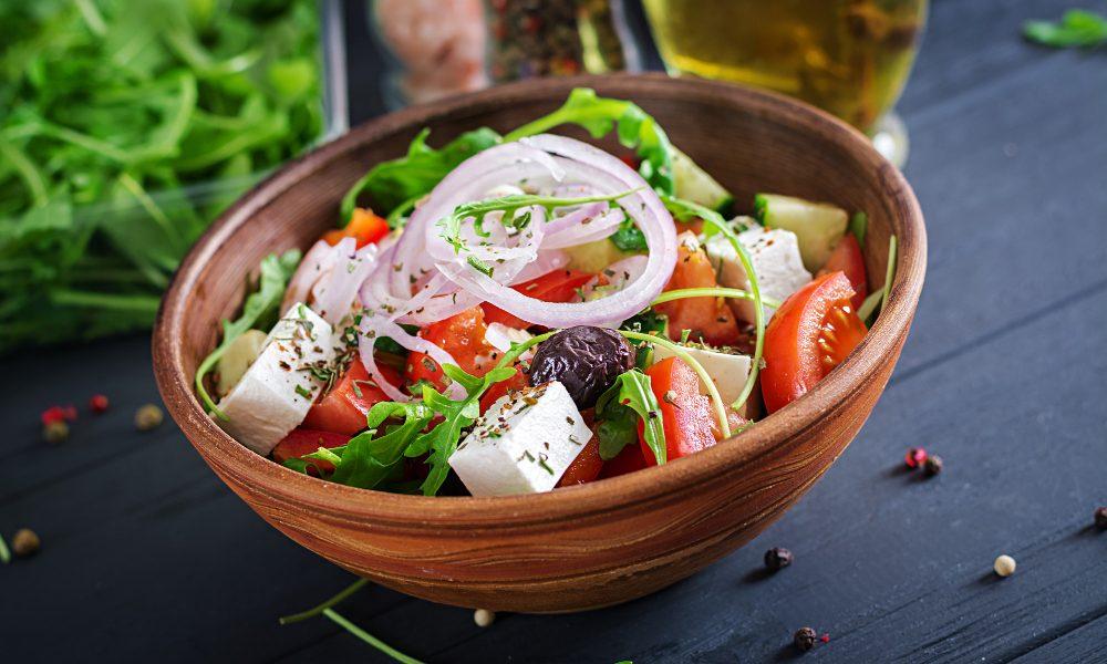 Light Salad with Olives